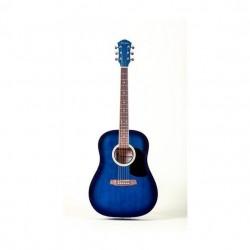 Geryon LD-18 akusztikus gitár kék