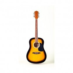 Geryon LD-18 akusztikus gitár sunburst