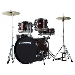 Ludwig Accent Drive Set - LC1754 Wine Red