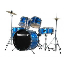 Ludwig Accent Drive Set - LC1759 Deep Blue