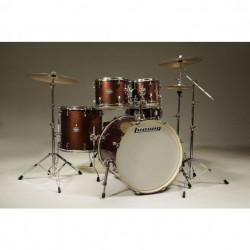Ludwig Element Drive set - Red Sparkle
