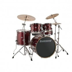 Ludwig Element Evolution Drive set - Red Sparkle