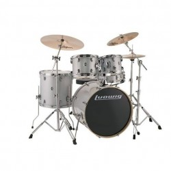 Ludwig Element Evolution Drive set - Silver-White Sparkle