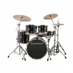 Ludwig Element Evolution Fuse set - Black Sparkle